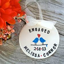 2014 diy ornaments ideas personalized engagement ornament love