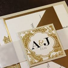 wedding invitations and gold 20 best gold wedding invitations images on gold