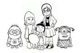 coloriage moi moche et méchant 1 2 et 3 coloriages pour enfants