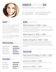 modern resume templates free best images on plants creative