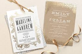 foil wedding invitations 350 giveaway from minted foil pressed wedding invitations