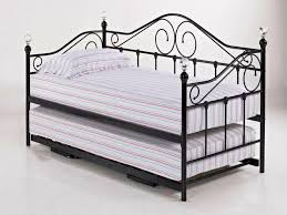 White Metal Daybed With Trundle Iron Daybeds With Trundle White Metal Daybed 16 Furniture Of