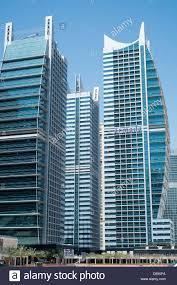 view of modern high rise apartment towers at jumeirah lakes towers
