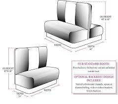design booth seating booth seating plans gallery dining