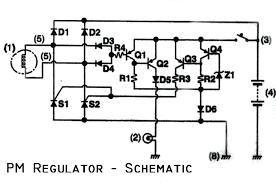gm external voltage regulator wiring diagram power schematic