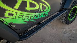 jeep green 2017 2007 2017 jeep jk venom side steps 4 dr off road bumpers