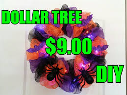 deco mesh wreath tutorial dollar tree youtube