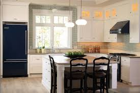 Kitchen Casual Cabinets Model Beside Modern Refrigerator Beside Cabinet In Kitchen And Dining Room With
