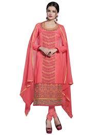 peach color women u0027s peach color cotton fabric magnificant dress material