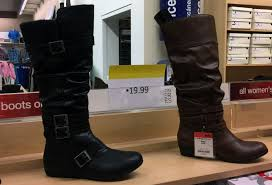 kmart womens boots bogo for 1 00 s boots only 4 25 at kmart the krazy
