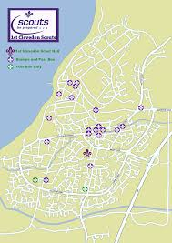 Christmas Map Scout Christmas Post 2016 1st Clevedon Scouts