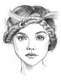 136 best braid drawing images on pinterest braid drawing