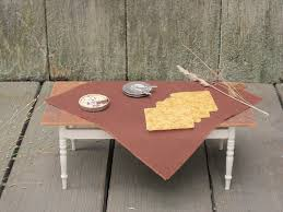 Woodland Home Decor Rustic Fall Woodland Brown Table Cloth U0026 Napkin Set 1 12 Scale