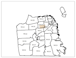 Zip Code Map Sacramento by Western Addition Map And Resources Myusf
