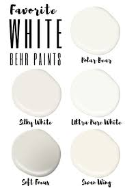 best white paint colors for walls the best behr white paint colors white paint colors behr