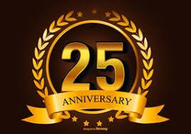twenty fifth anniversary 25th anniversary free vector 1117 free downloads