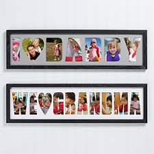 personalized name personalized name photo collage frame loving them