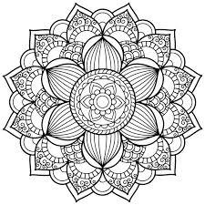 free mandala coloring pages beautiful mandala art coloring pages