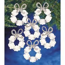 cheap beaded wreath ornament find beaded wreath ornament deals on