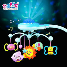 baby crib lights toys 2018 wholesale baby crib toys bell star hanging sleep infant bedding