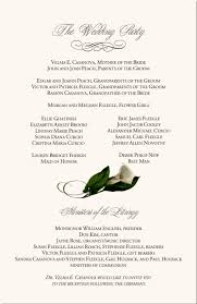 Wedding Card Examples Calla Lily Wedding Program Examples Catholic Mass Wedding Program