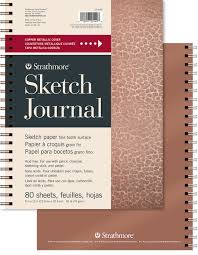 metallic journal sketch strathmore artist papers