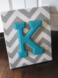 Personalized Nursery Decor Wall Canvas Letters Nursery Decor Nursery Letters Wooden