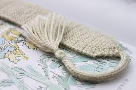 Wedding Gift Knitting Patterns Knitting Pattern 3 Knitted Bookmarks Knit Knitted White