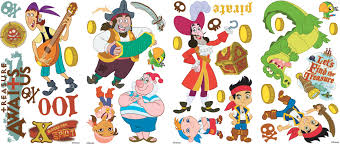 room mates popular characters jake and the neverland pirates wall default name