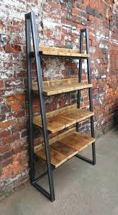 best wood for bookcase metal wood bookshelf custom made metal and wood bookshelves diy