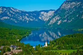 slovenia lake lake bohinj travel lonely planet