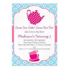 435 best tea party birthday invitations images on pinterest