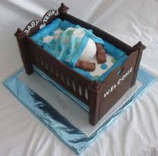 baby bottom cake baby bottom in baby crib cake for baby shower view 2