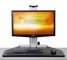 Ergo Standing Desk by Amazon Com Ergo Desktop Kangaroo Pro In Black Computers