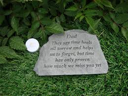 grandad memorial garden plaque grave marker ornament