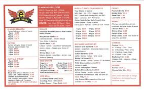 Winghouse by E Wing House Menu Menu For E Wing House Mobile Mobile Bay