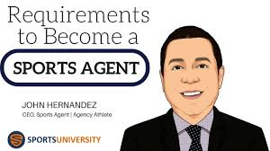 sports agent job description requirements to become a sports agent youtube