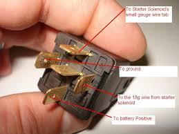 motorcycle starter relay wiring diagram wiring diagram and