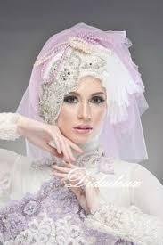 tutorial hijab syar i untuk pernikahan brides hijab wedding wedding pinterest weddings wedding