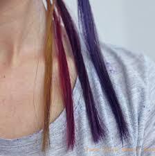 igora hair color instructions face value beauty blog purple hair experiment crazy colour vs