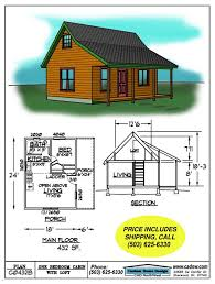 small cabin floor plans c0432b cabin plan details cabin