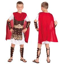 boys child roman centurion gladiator army soldier fancy dress