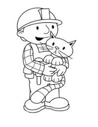bob builder fatigue coloring kids kids coloring