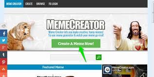 Meme Generator Crear - sitio web gratuito para crear sus propios memes f磧cilmente pdm