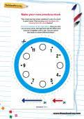 telling the time learning journey theschoolrun