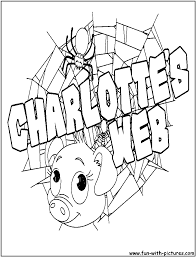 Charlottes Web Coloring Pages Free Printable Colouring Pages For Web Coloring Pages