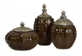 brown kitchen canister sets ideas interesting kitchen canisters for kitchen accessories ideas