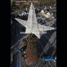 lighted christmas star outdoor christmas lights decoration
