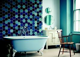 Blue Bathroom Tile by Blue And White Bathroom Tile Ideas Comfy Home Design