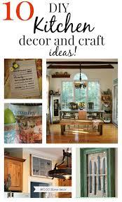 easy kitchen decorating ideas 10 easy diy kitchen craft decor ideas budgeting kitchens and easy